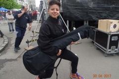 Melatti Backstage Romania Gig